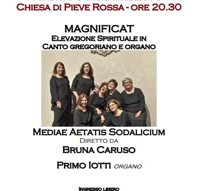 Magnificat, sabato 3 dicembre 2016, Pieve Rossa, Bagnolo in Piano
