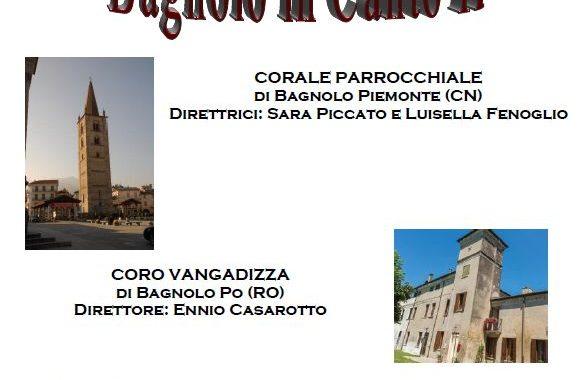Bagnolo in Canto II, sabato 11 marzo, ore 20:30, Chiesa Parrocchiale Bagnolo in Piano